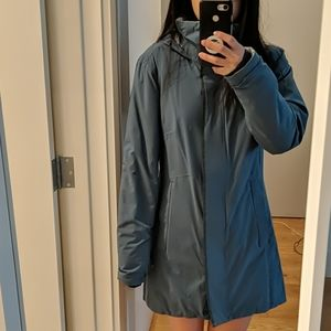 Cole haan x mountain hardware long raincoat XS